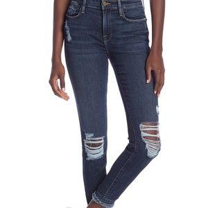 Frame Denim Jeans - Frame | Le High Skinny Distressed Jeans Montclair